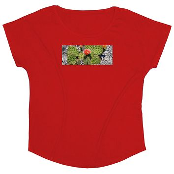 Wild West: Woman's Prickly Cactus Patch T-shirt