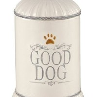 Grasslands Road Gift Boxed Good Dog Ceramic Treat Jar, 9-Inch