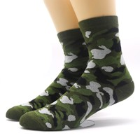 Skritts 3D Print Funny Socks Men Camouflage Casual Long Warm Winter Socks for Man Hip-hop Casual Dress Crew Socks Calcetines