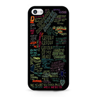 one direction song iPhone 5C Case