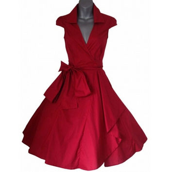 Vintage Prom Party Dresses With Belt = 1783189380