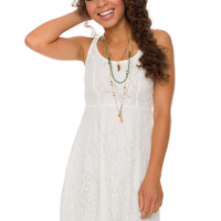 London Calling Dress - White