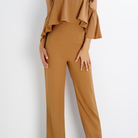 Blake Multi Way Jumpsuit - Camel