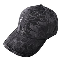 Men's Snapback Camouflage Tactical Hat Tactical Baseball Cap Head Camouflage Caps Sun Hat Golf Hats for Men and Women