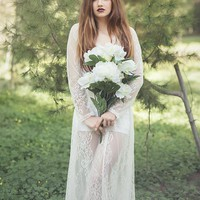 """Jayde"" Lace Wedding Dress-Bohemian-bridal-boho"