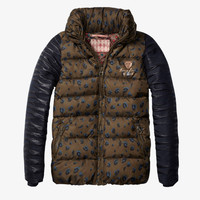Scotch R'Belle Animal Print Puffer Jacket - 1454.08.10401 - FINAL SALE