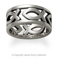 Continuous Ichthus Band from James Avery