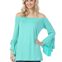 Simply Stated Tunic - Mint