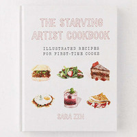 The Starving Artist Cookbook: Illustrated Recipes for First-Time Cooks By Sara Zin | Urban Outfitters
