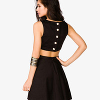 Cutout Bow Dress