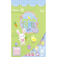 ConsumerCrafts Product Hoppin' Down the Bunny Trail Easter Sticker Book - 200 Stickers