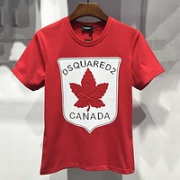 Dsquared Women Or Men Fashion Casual Embroidery Shirt Top Tee