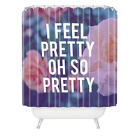 Leah Flores So Pretty Shower Curtain