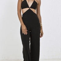 Star Cutout Sexy Jumpsuit
