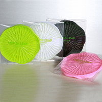 Hot Deal Drinks Hot Sale On Sale Coffee Cute Creative Leaf Silicone Anti-skid Stylish Cup [6283293062]