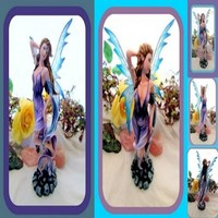 Elemental Wind Fairy Statue