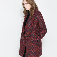 OVERSIZE DOUBLE BREASTED COAT - Woman - NEW THIS WEEK   ZARA United Kingdom