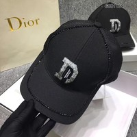 Dior Edge crystals Trucker Hat