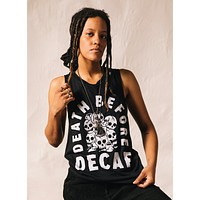 Death Before Decaf Muscle Tee