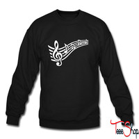 Notes music 4 sweatshirt