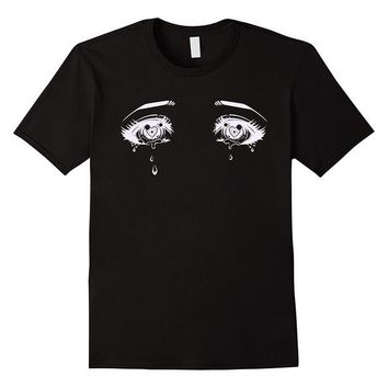 Anime T-Shirt cosplay Anime Eyes T-Shirt | Pastel Goth Aesthetic Tee 2018 Summer New Brand T Shirt Men Hip Hop Men Casual Fitness Letter Top Tee AT_57_4