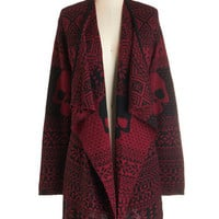 Long Sleeve A Head of the Game Cardigan