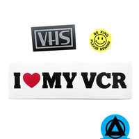 VHS Lovers Sticker Pack