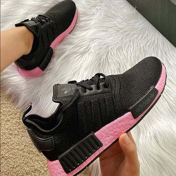 Adidas NMD r1 breathable woven sports casual running shoes sneakers-3