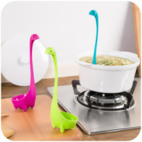 1pc Nessie Spoon Creative Cute Dinosau Spoon Large Soup Spoon Kitchen Utensils Cooking Tools