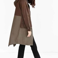 Shades Of Grey By Micah Cohen Double Layer Jacket