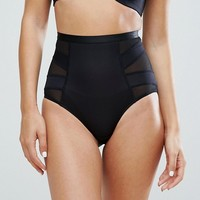 New Look Solutions High Waist Shaping Brief at asos.com