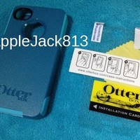 Otterbox Commuter iPhone 4 4G 4S 4 S Teal Turquoise OEM Case Otter Box