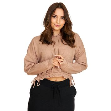 All Tied Up Mocha Hoodie