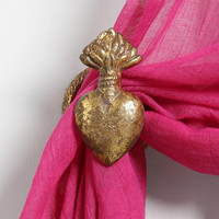 Heart Curtain Tie-Back - Urban Outfitters