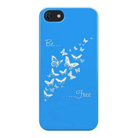 Custom Colour Phone Case, iPhone, Galaxy Case, Typography, Butterfly, Word Art