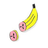 A Sliced Banana Pin Set