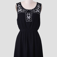 Zoey Embroidered Dress