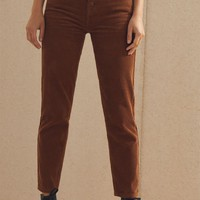 PacSun Toffee Corduroy Vintage Icon Mom Jeans at PacSun.com