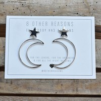 Cosmo Earring, Silver