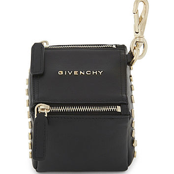 GIVENCHY Cube leather pouch