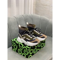 DG Men Fashion Boots fashionable Casual leather Breathable Sneakers Running Shoes07010qh