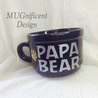 PAPA BEAR BIG mug 22oz