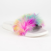 YOKI Feather Womens Slide Sandals | Sandals