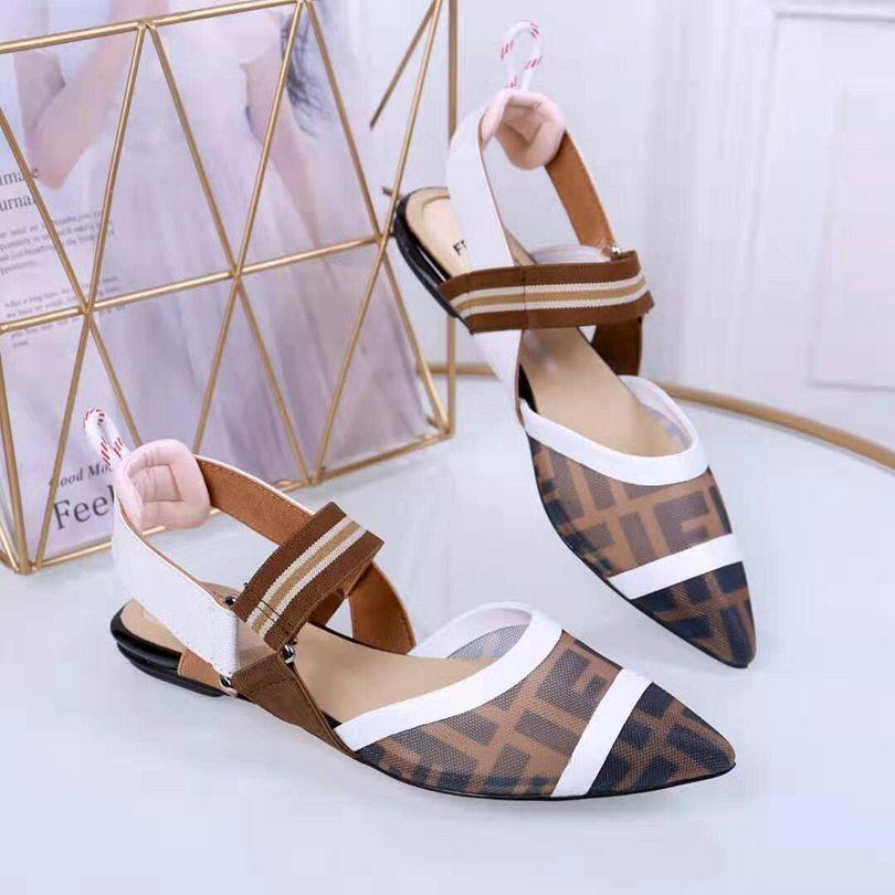 Image of FENDI  Women Casual Shoes Boots fashionable casual leather Women Heels Sandal Shoes