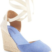 Soludos Wedge Lace-Up Espadrille Sandal (Women)   Nordstrom