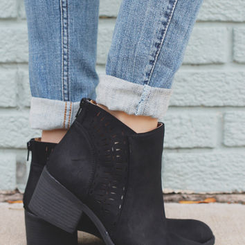 Out of Sight Booties - Black