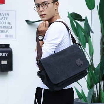 Family Friends party Board game 2018 men messenger bags school canvas single shoulder bags crossbody bag for traveling AT_41_3