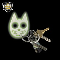 Streetwise My Kitty Self-Defense Keychain Glow in the Dark