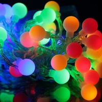 Innoo Tech LED String Light Battery Operated with 40 Ball Cover for Christmas, Partys, Wedding, New Year Decorations, etc(Multi color)