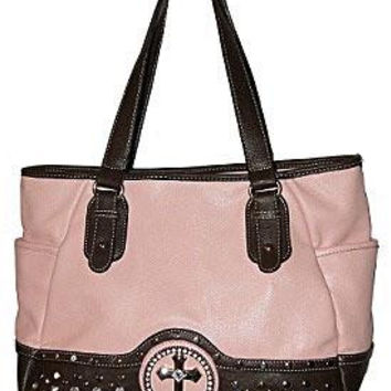 Fashion Cross Shopper Pink Bag